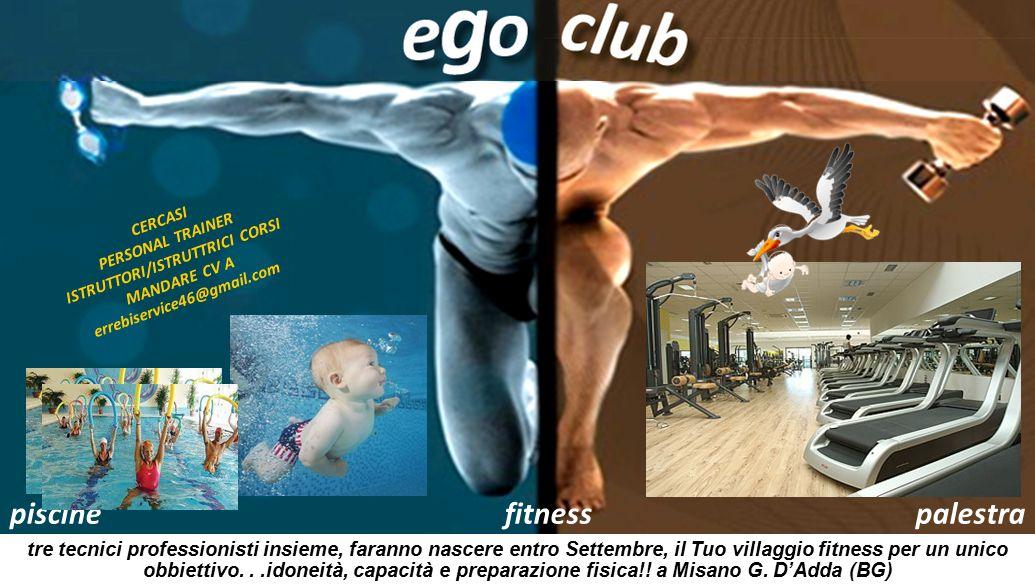 piscinefitnesspalestra Il tuo villaggio fitness sarà aperto a Settembre con due sale corso, una sala spinning, una sala attrezzi TechnoGym e due piscine coperte.
