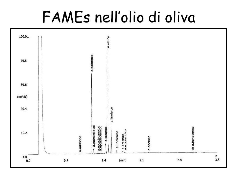 La FAMEs nell'olio di oliva