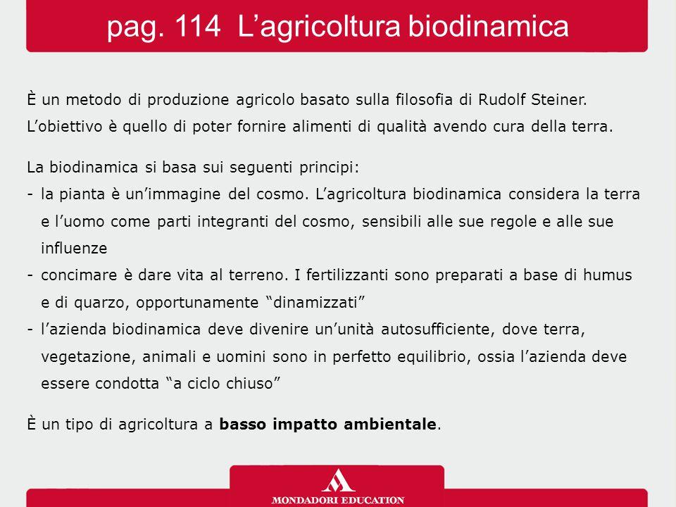 È un metodo di produzione agricolo basato sulla filosofia di Rudolf Steiner.