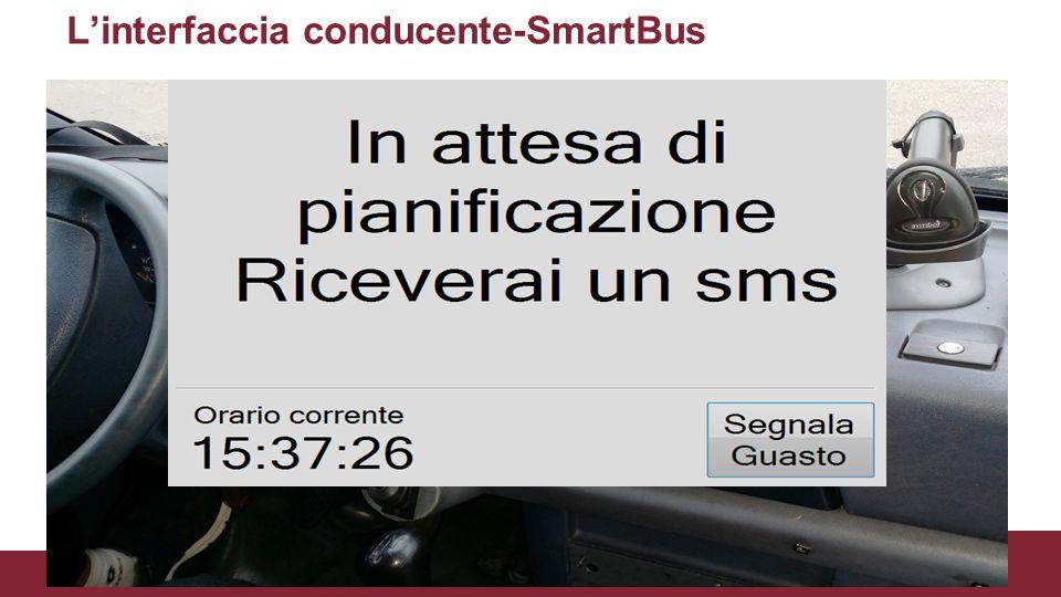 L'interfaccia conducente-SmartBus