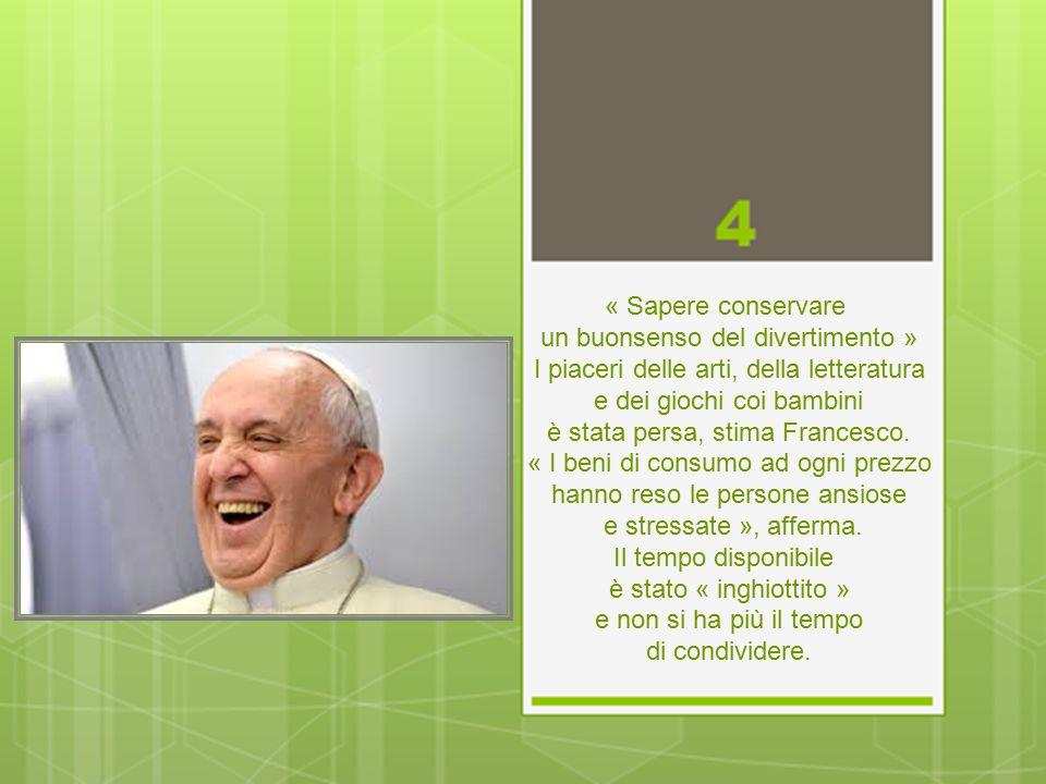« Procedete con calma » Il Papa cita il romanziere argentino Ricardo Guiraldes che utilizzava l immagine di un fiume che avanza lentamente per descrivere la vecchiaia.