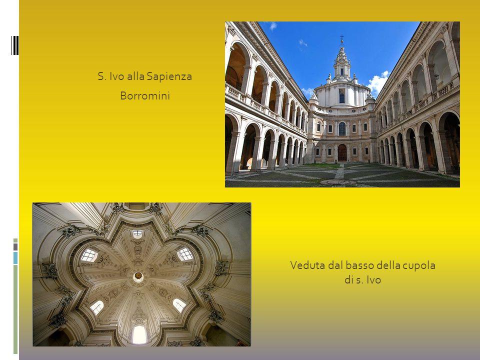 S. Ivo alla Sapienza Borromini Veduta dal basso della cupola di s. Ivo