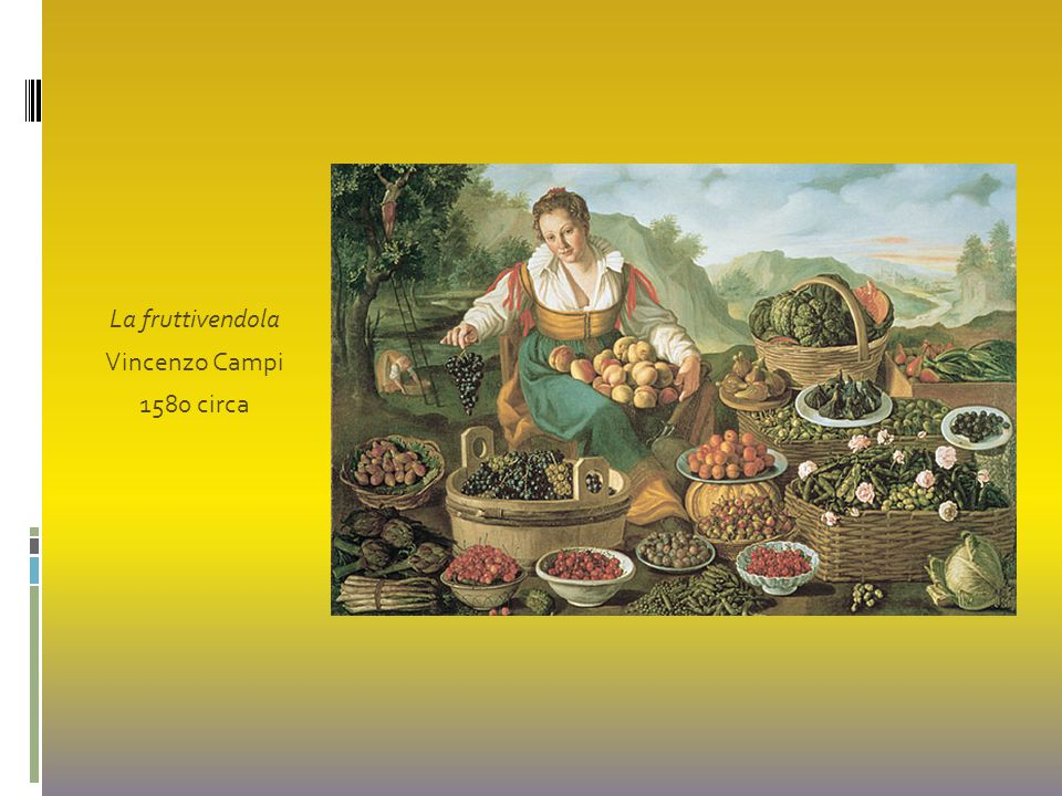 La fruttivendola Vincenzo Campi 1580 circa