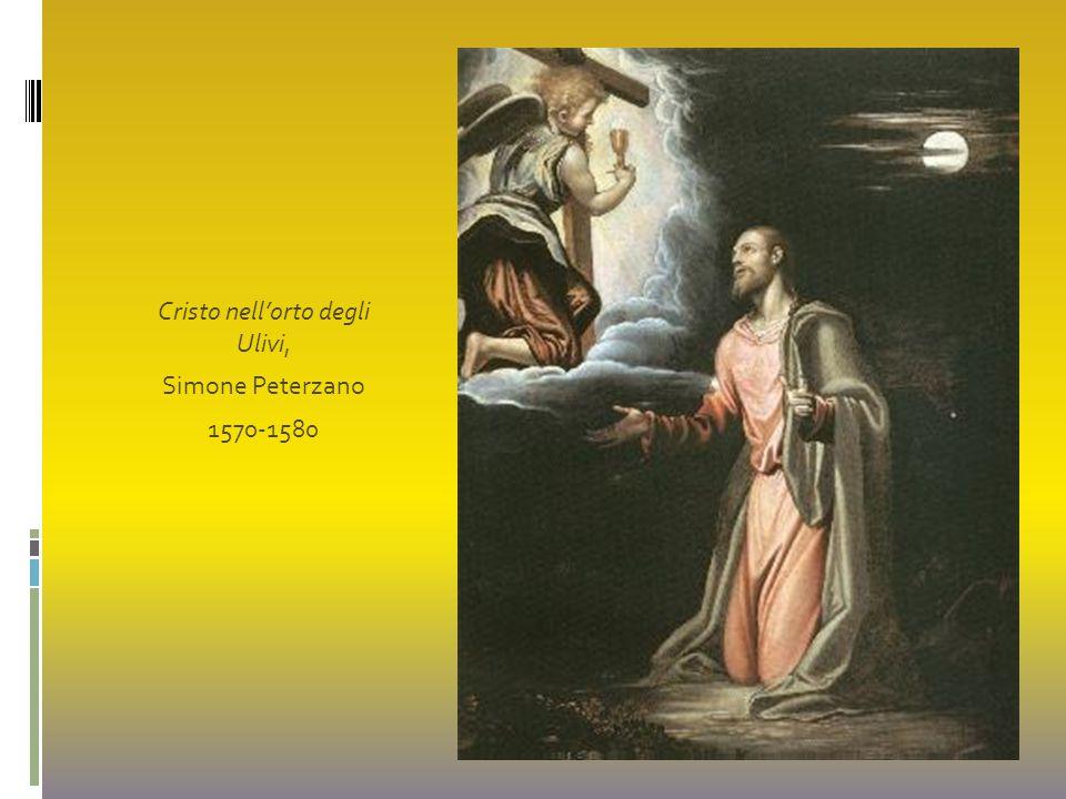 Cristo nell'orto degli Ulivi, Simone Peterzano 1570-1580