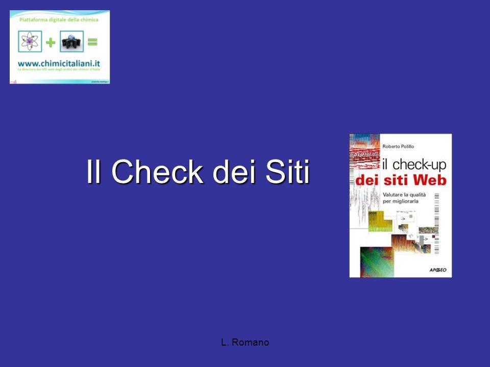 Il Check dei Siti