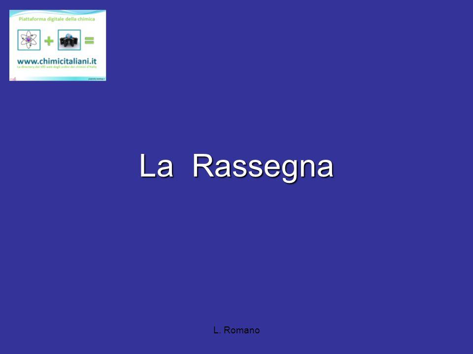 L. Romano www.chimicitaliani.it
