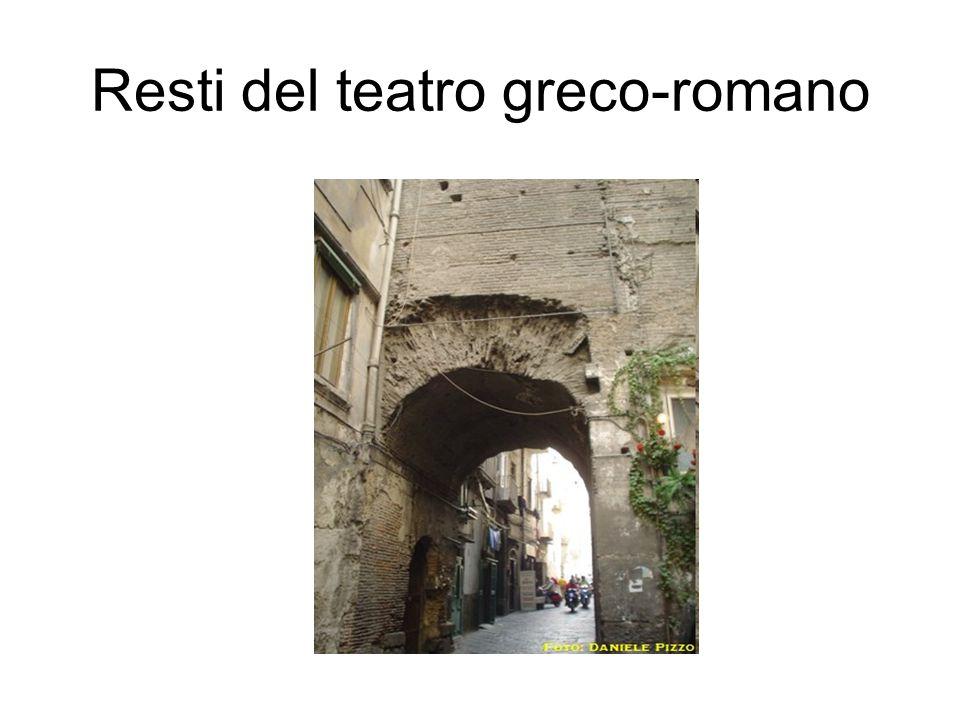 Resti del teatro greco-romano