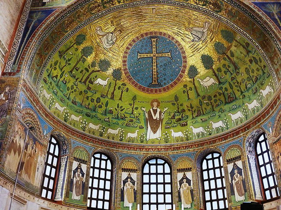S. Apollinare in Classe. Croce bizantina VI secolo
