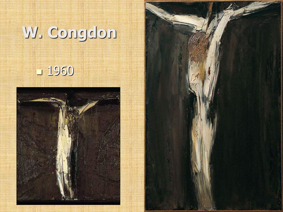 W. Congdon 1960 1960