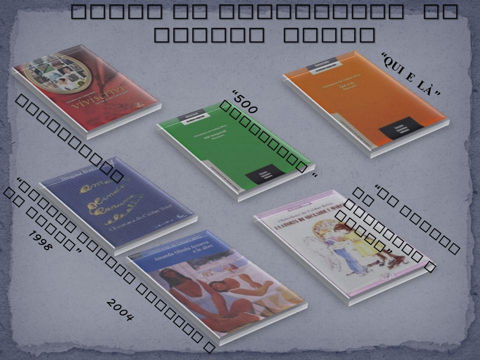 PREMIO GROTTERIA 2000 Il 29 settembre del 2000, a Grotteria ( RC ), durante la serata della terza edizione del Premio Grotteria, la scrittrice Christiana de Caldas Brito, il poeta Gezim Hajdari e lo scrittore Ron Kubati hanno ricevuto un Premio - Riconoscimento per i lavori pubblicati.