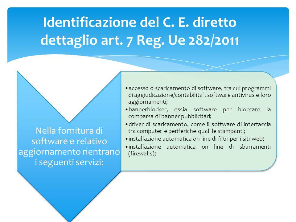 Nella fornitura di software e relativo aggiornamento rientrano i seguenti servizi: accesso o scaricamento di software, tra cui programmi di aggiudicaz