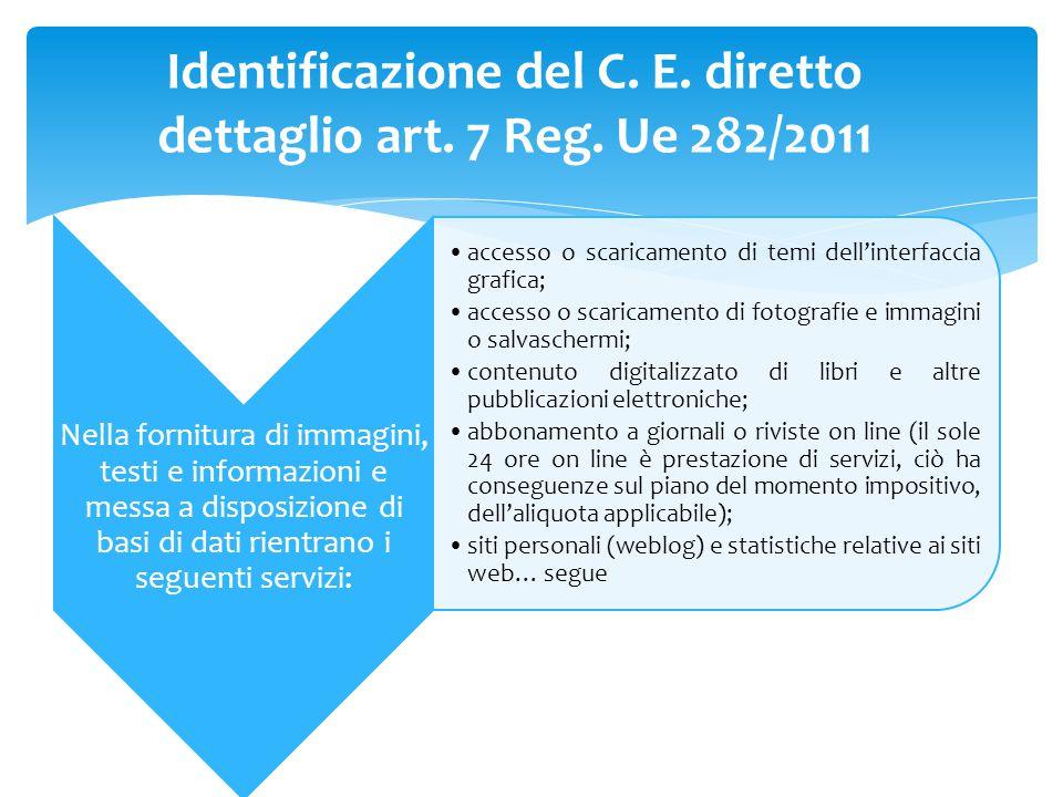 Nella fornitura di immagini, testi e informazioni e messa a disposizione di basi di dati rientrano i seguenti servizi: accesso o scaricamento di temi
