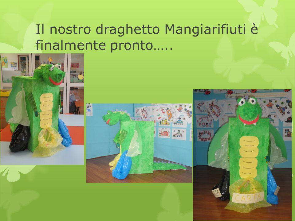 Il nostro draghetto Mangiarifiuti è finalmente pronto…..