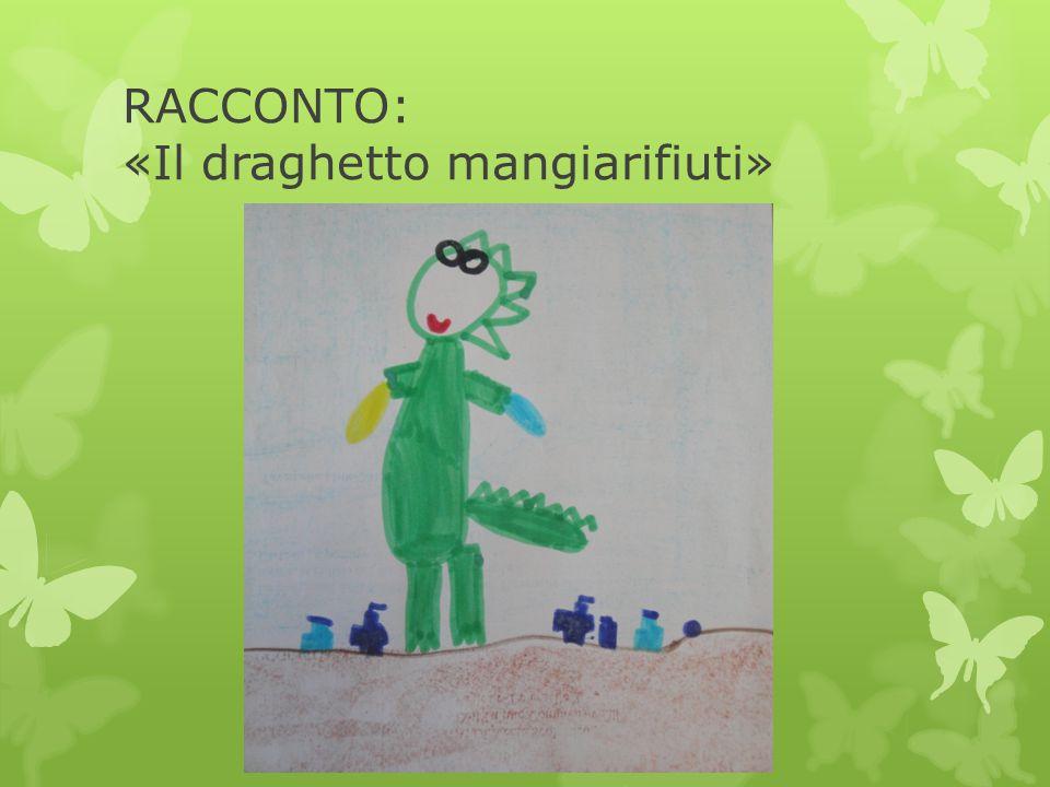 I bambini ascoltano la storia Il Draghetto Mangiarifiuti C'era una volta … un draghetto che dormiva in una caverna al centro della Terra.