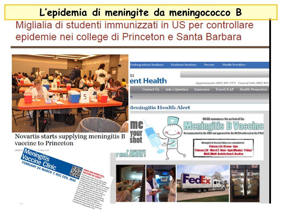 23 L'epidemia di meningite da meningococco B