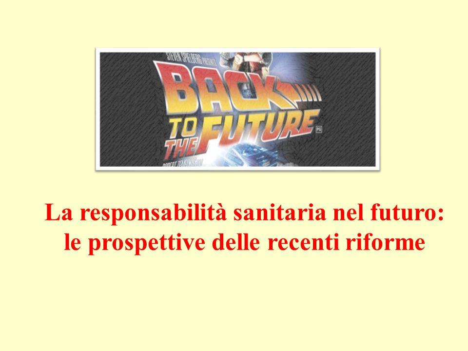La responsabilità sanitaria nel futuro: le prospettive delle recenti riforme