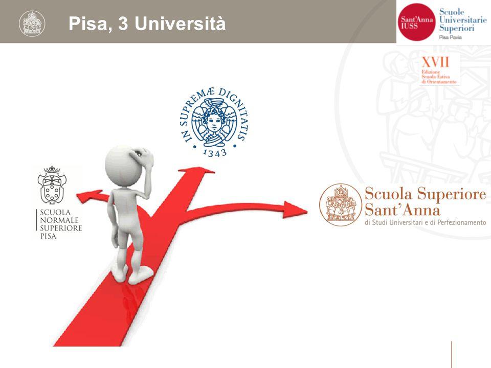 Pisa, 3 Università