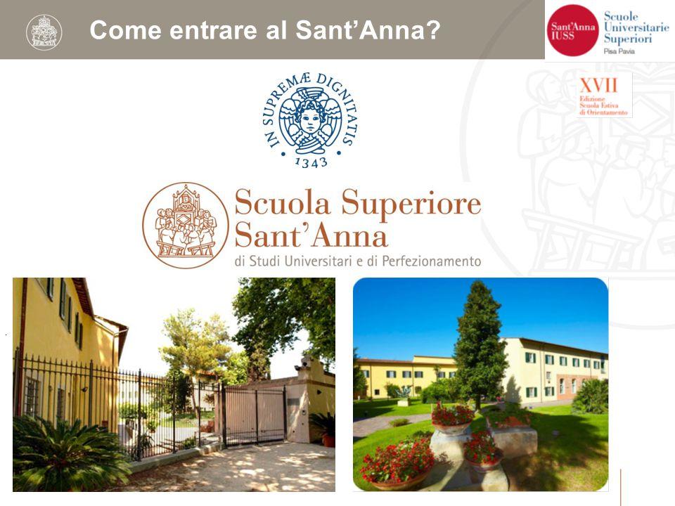 . Come entrare al Sant'Anna