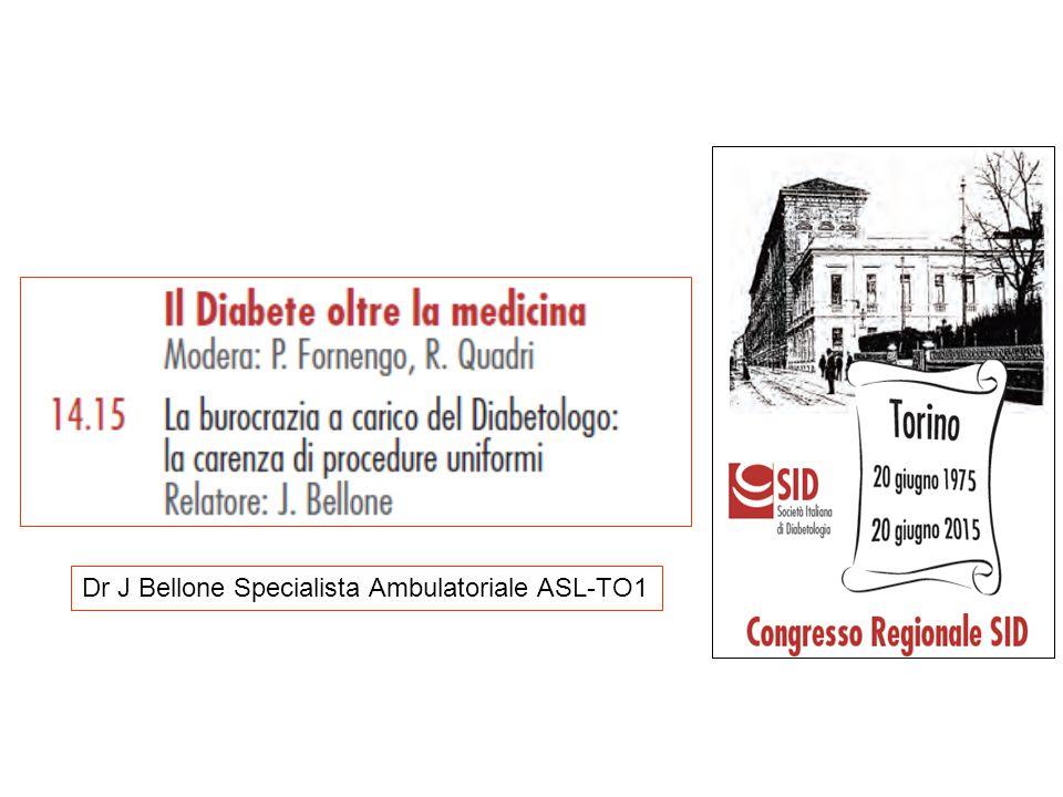 Dr J Bellone Specialista Ambulatoriale ASL-TO1