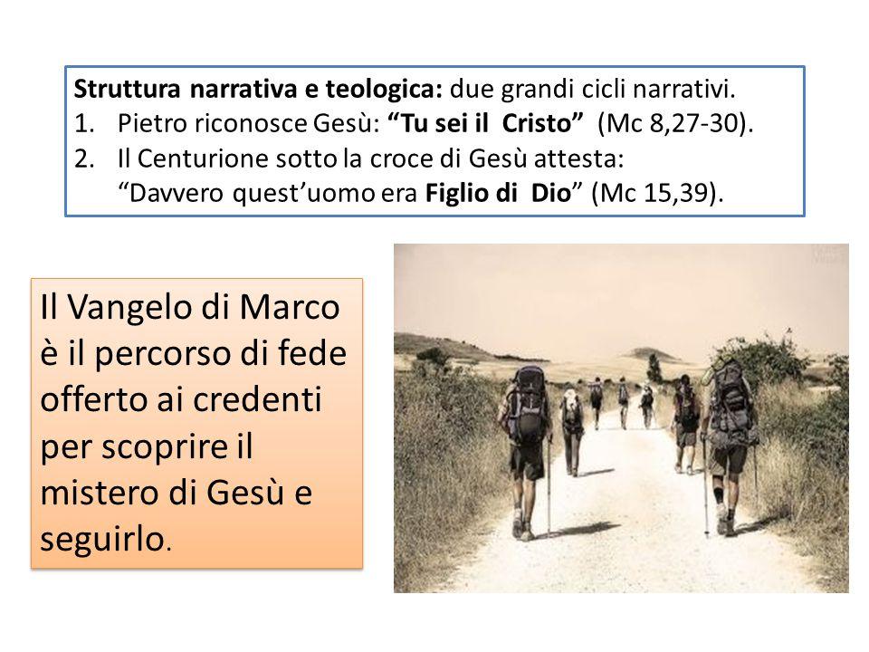 Marco Chi è l'evangelista? Compagno di Paolo e poi a lungo discepolo di Pietro a Roma. Nel suo Vangelo raccoglie e interpreta la predicazione di Pietr