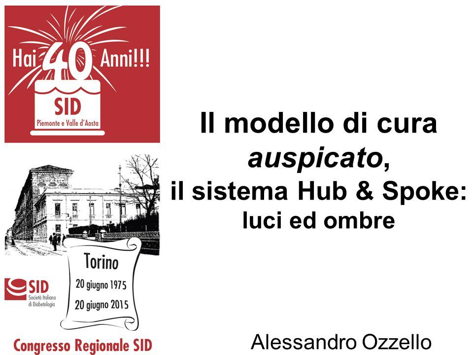 Il modello di cura auspicato, il sistema Hub & Spoke: luci ed ombre Alessandro Ozzello