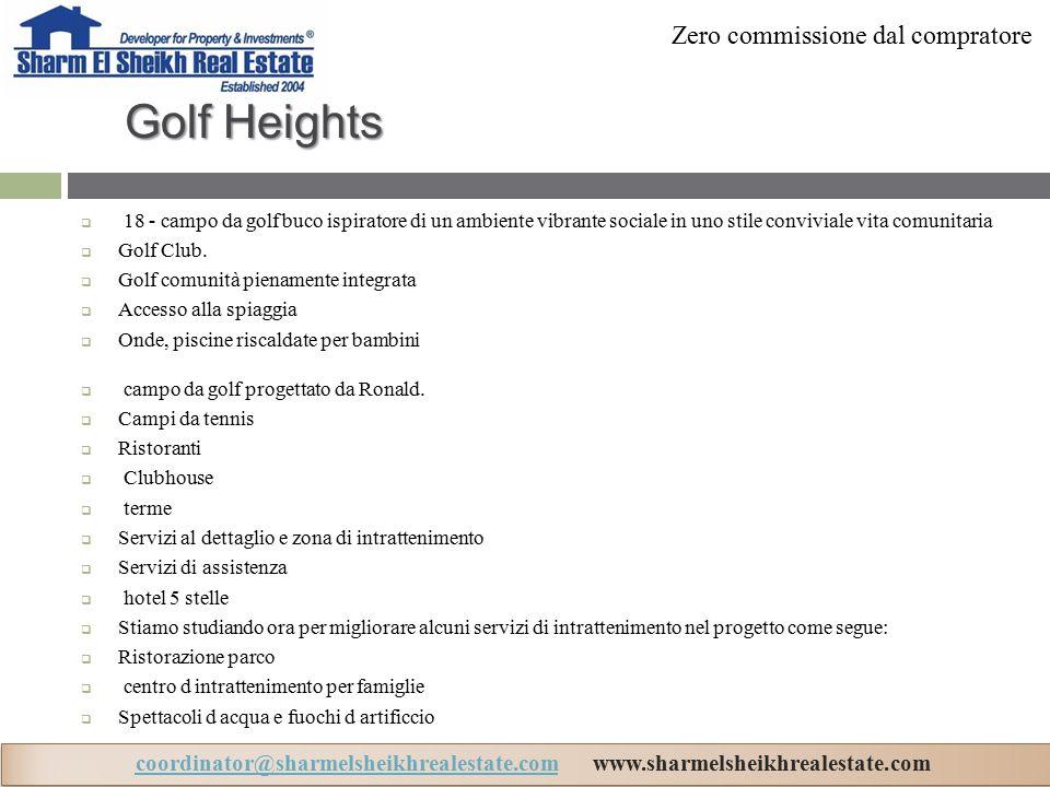 Golf Heights  18 - campo da golf buco ispiratore di un ambiente vibrante sociale in uno stile conviviale vita comunitaria  Golf Club.