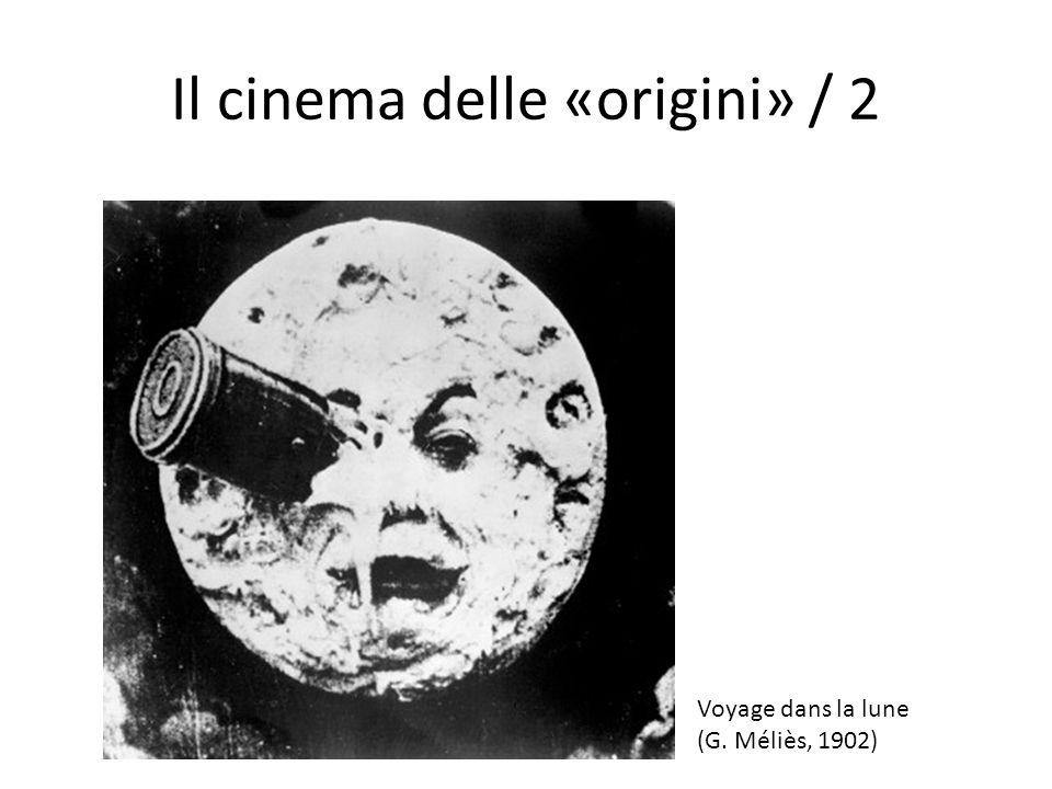 Il cinema delle «origini» / 2 Voyage dans la lune (G. Méliès, 1902)