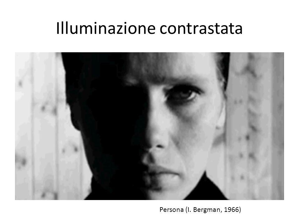 Illuminazione contrastata Persona (I. Bergman, 1966)