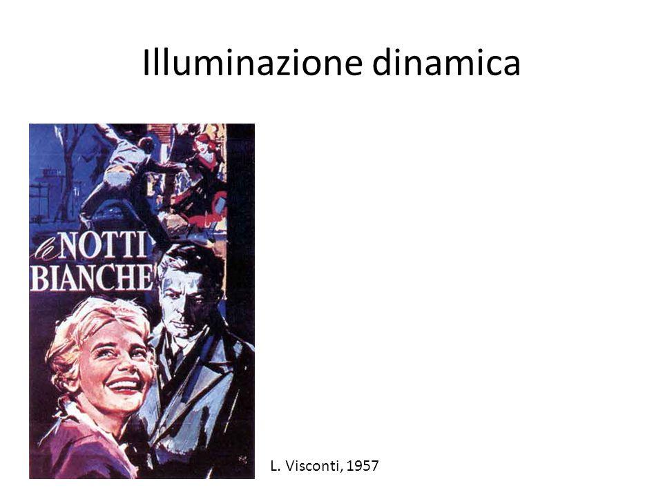 Illuminazione dinamica L. Visconti, 1957