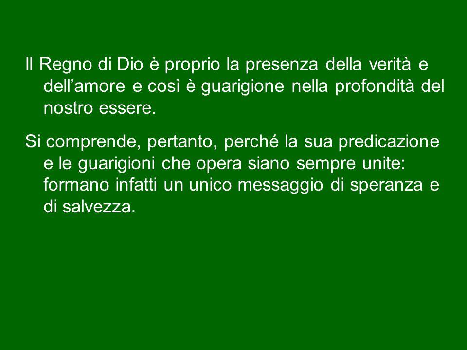 Dico che questa guarigioni sono segni: non si risolvono in se stesse, ma guidano verso il messaggio di Cristo, ci guidano verso Dio e ci fanno capire