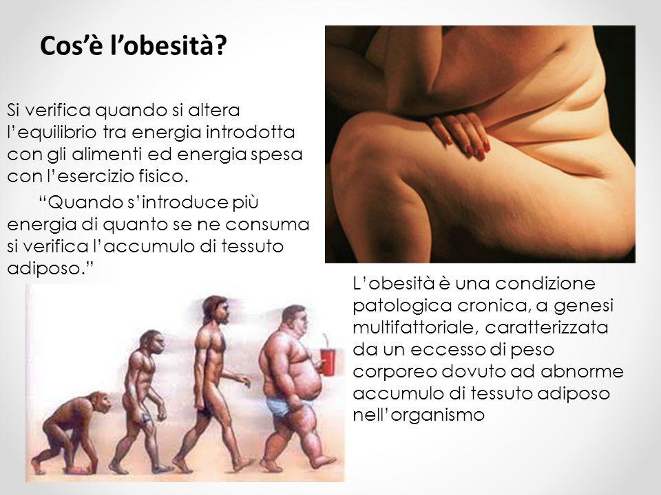 Cos'è l'obesità.