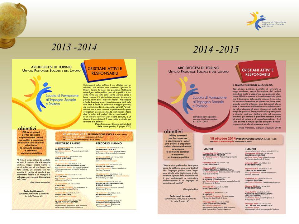 2013 -2014 2014 -2015