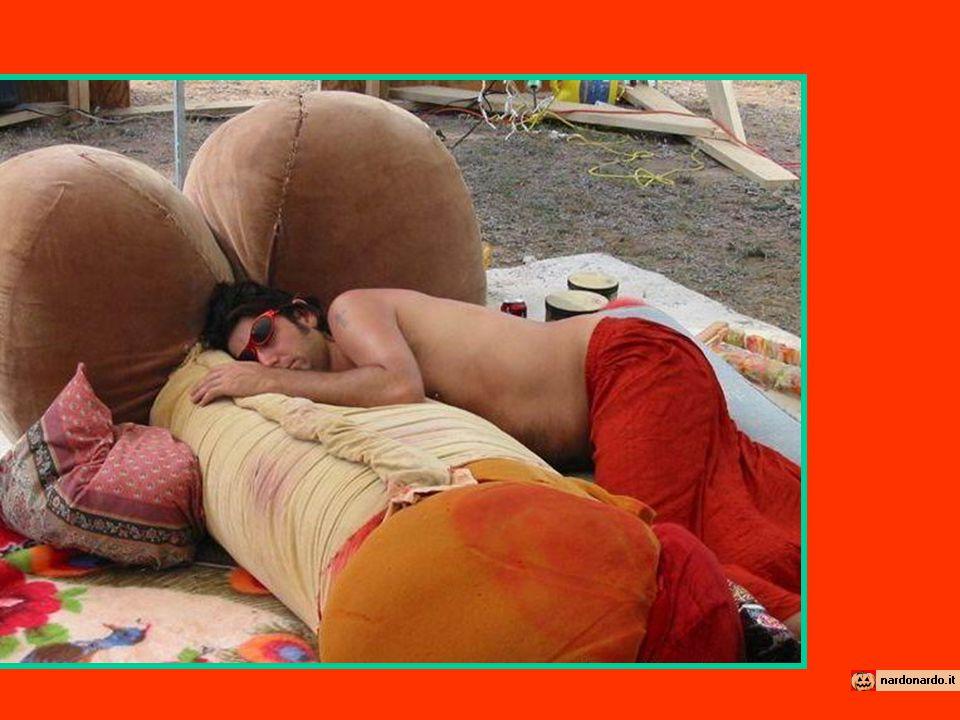 Vendo cuscino per riposo all'aria aperta