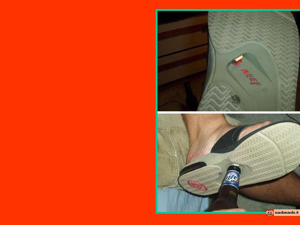 Vendo scarpe apribottiglia