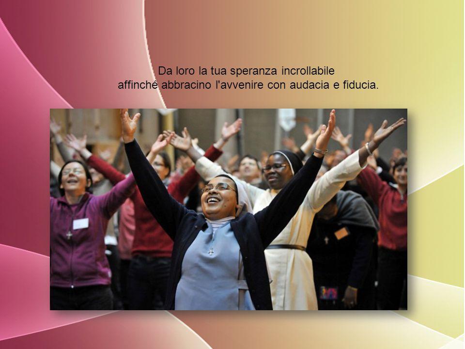 Aiuta coloro che s'impegnano in questa strada di santità ad ascoltare sempre ciò che lo Spirito Santo dice alla chiesa ed al mondo di oggi.