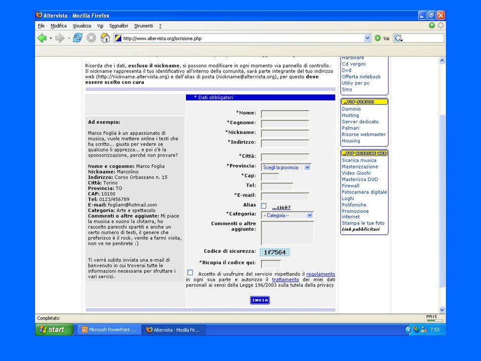 Hosting a pagamento Aruba.it Buono per un hosting medio/basso 20 €/anno con registrazione dominio e 5 mail (no database Mysql + 7€) Consultingweb.it 200€ dominio spazio frazionabile,illimitato,email illimitate,Mysql.etc..