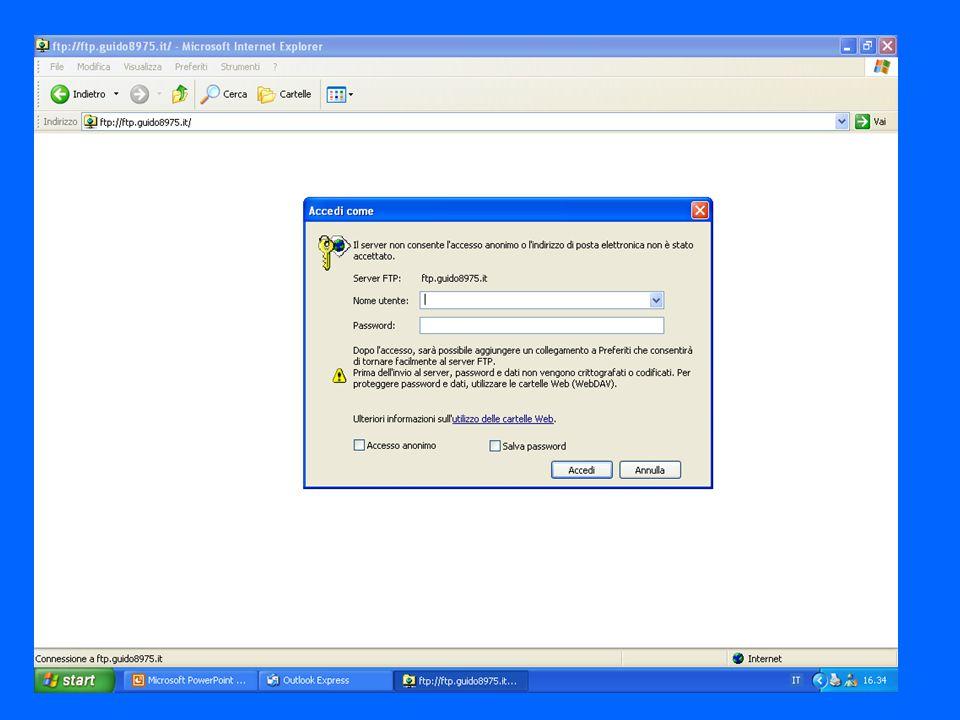 FILEZILLA Un ottimo clientftp gratuito sia per windows sia per linux.