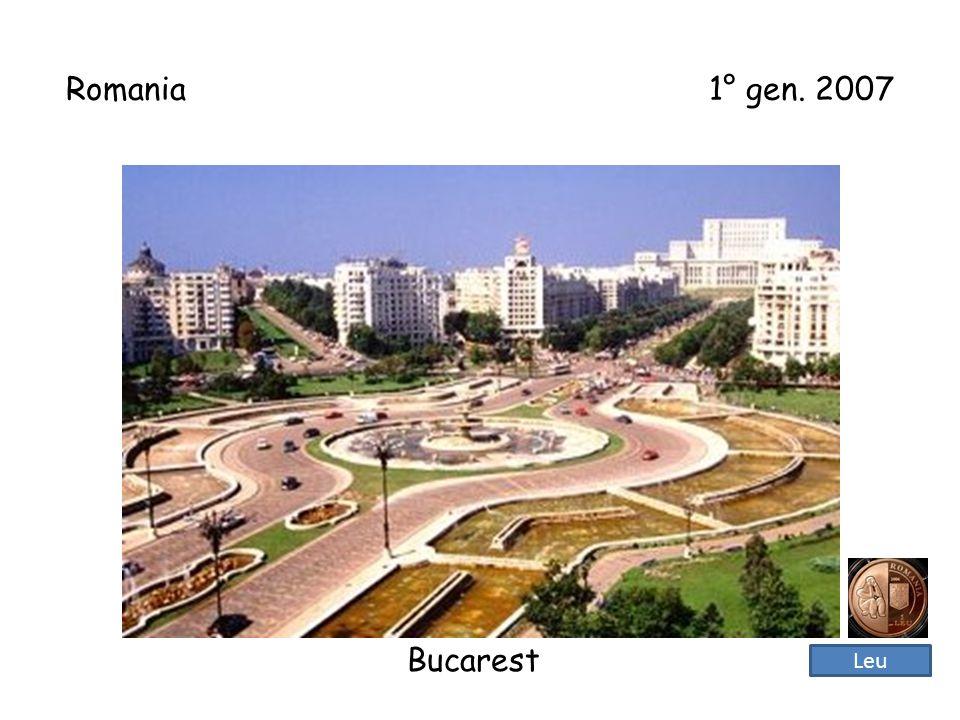 Bulgaria 1° gen. 2007 Sofia Lev bulgaro