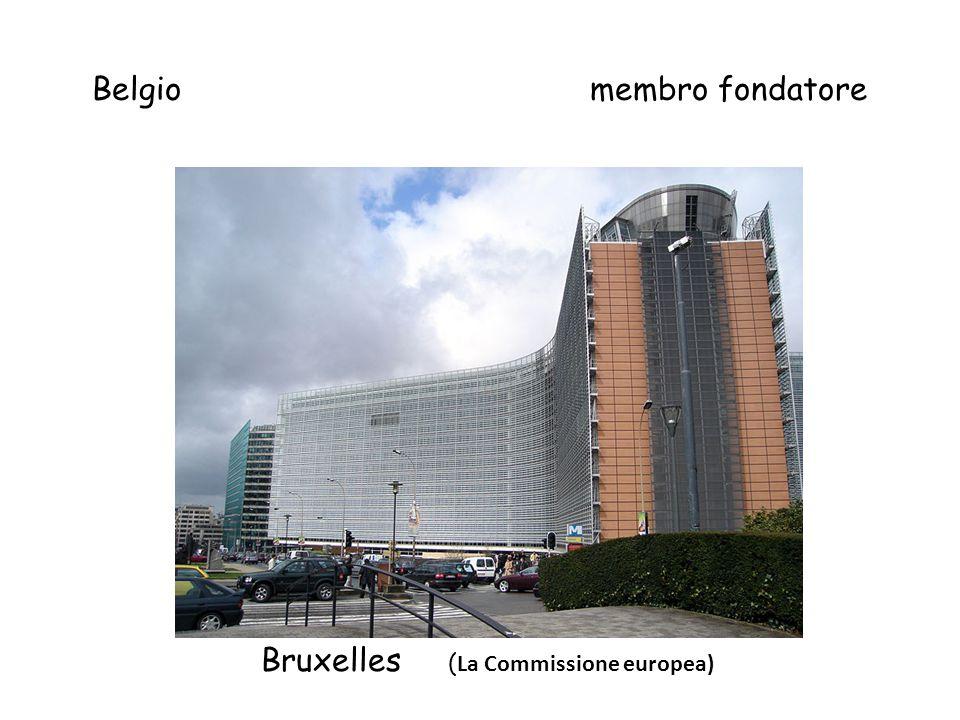 Le diapositive sono disposte così: paeseAnno ingresso capitale Se non ha l' € Foto della capitale o istituzione