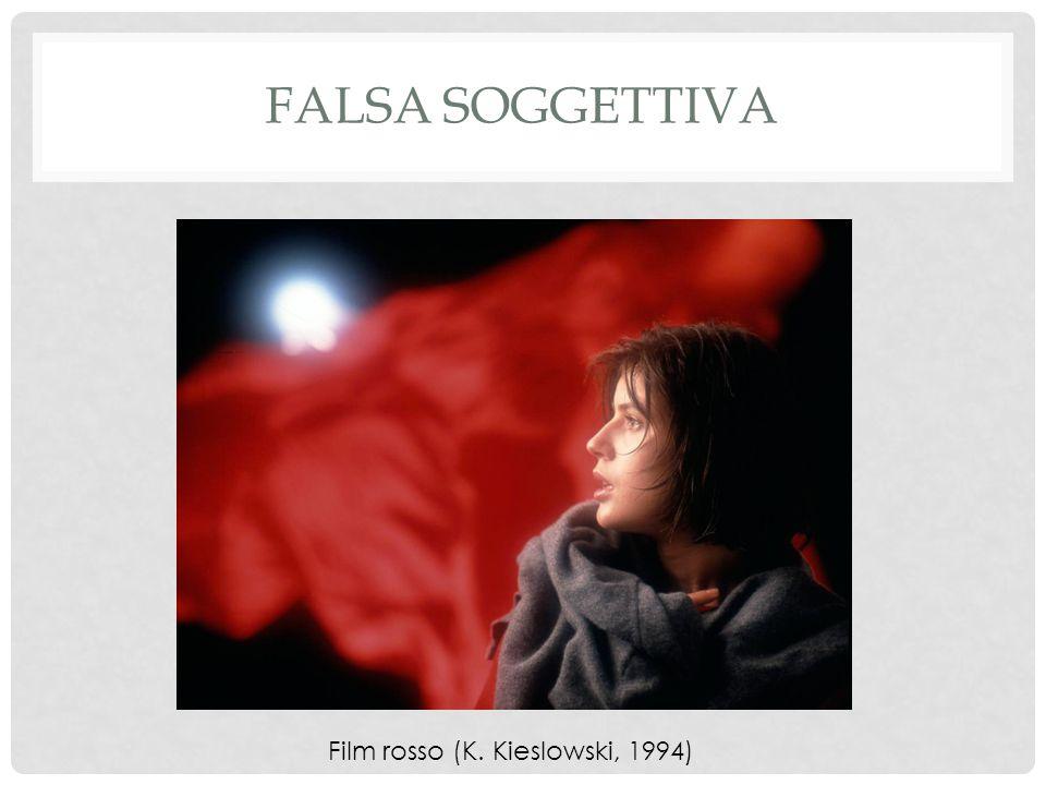 FALSA SOGGETTIVA Film rosso (K. Kieslowski, 1994)