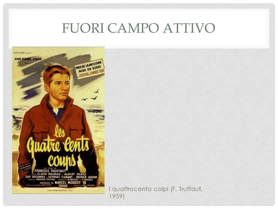 FUORI CAMPO ATTIVO I quattrocento colpi (F. Truffaut, 1959)