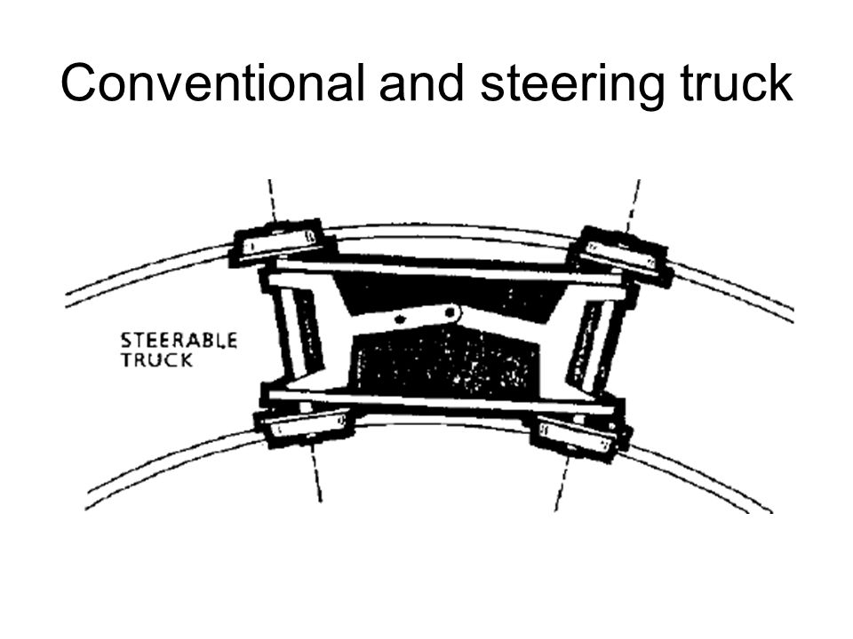 Conventional and steering truck
