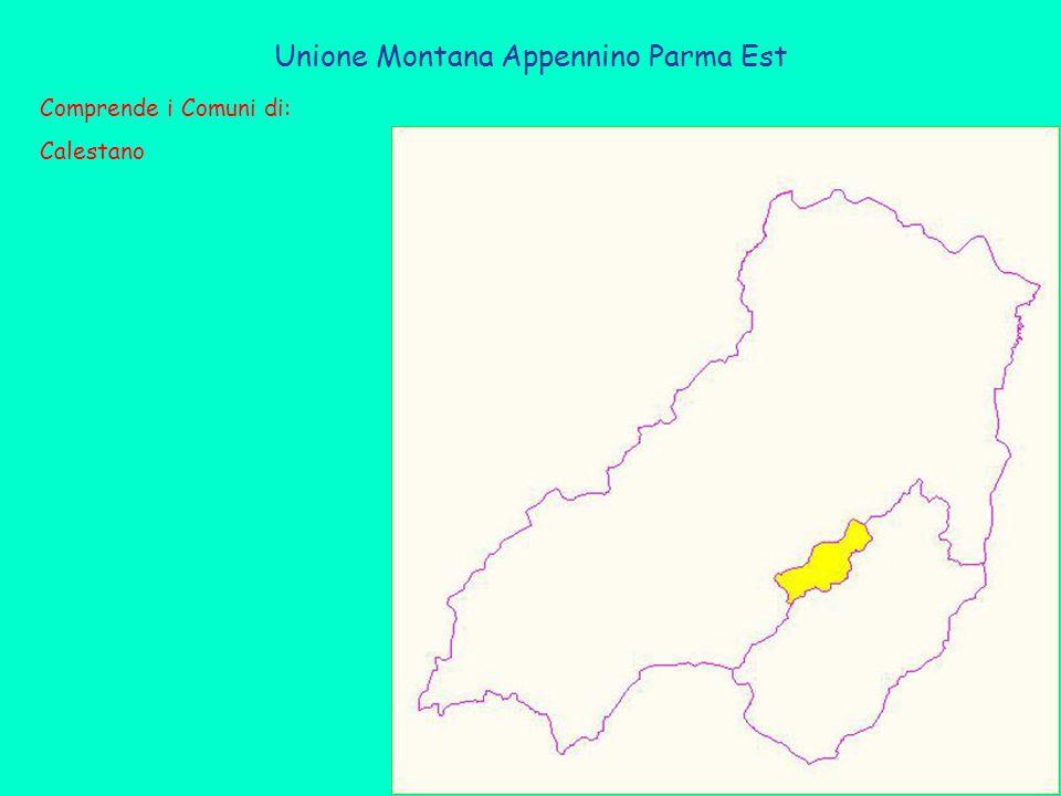 Unione Montana Appennino Parma Est Comprende i Comuni di: Calestano