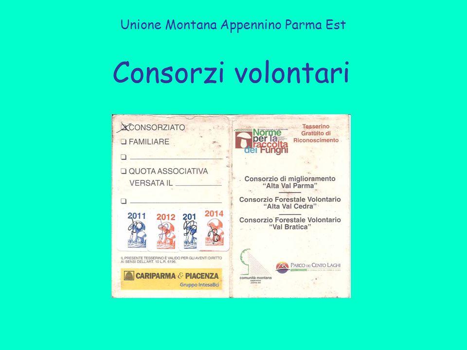 Consorzi volontari Unione Montana Appennino Parma Est