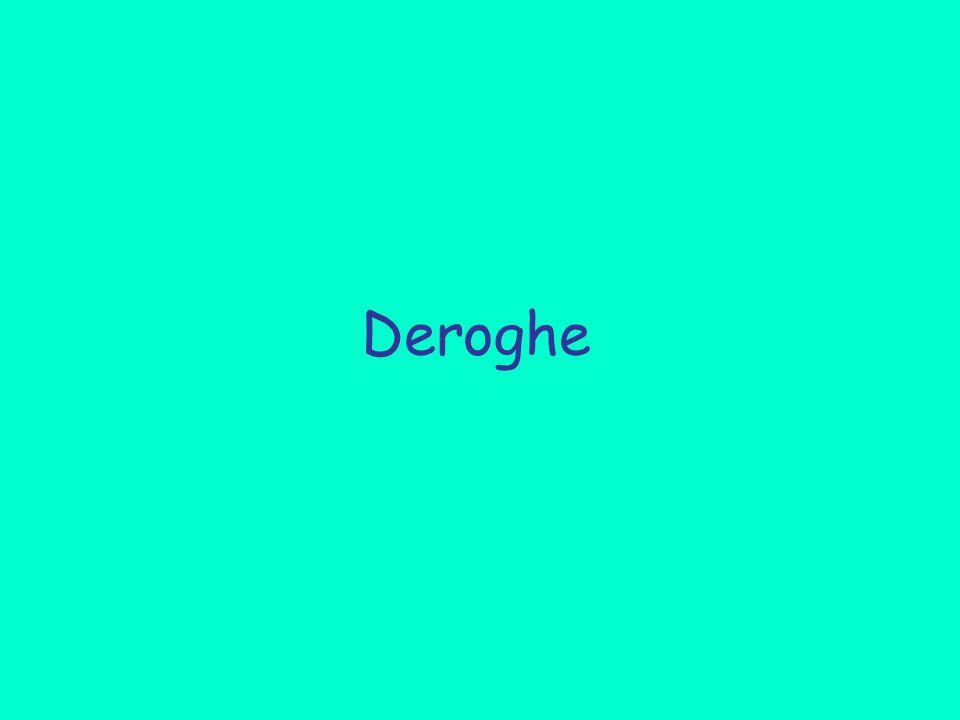 Deroghe