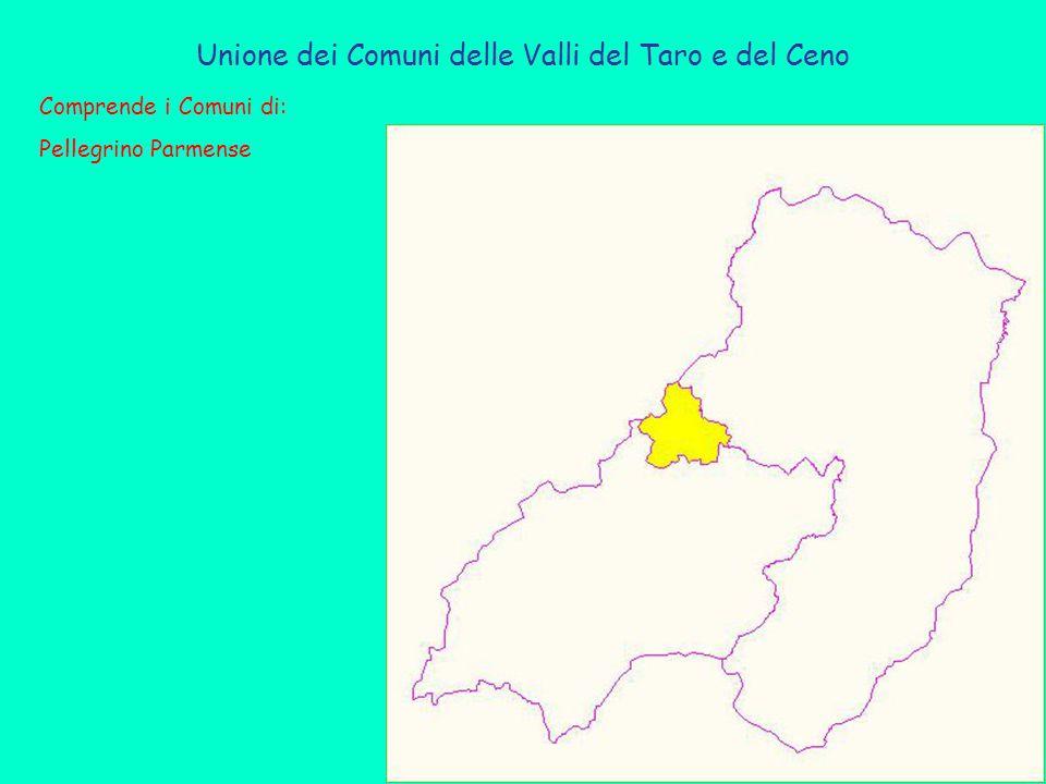 Unione dei Comuni delle Valli del Taro e del Ceno Comprende i Comuni di: Pellegrino Parmense