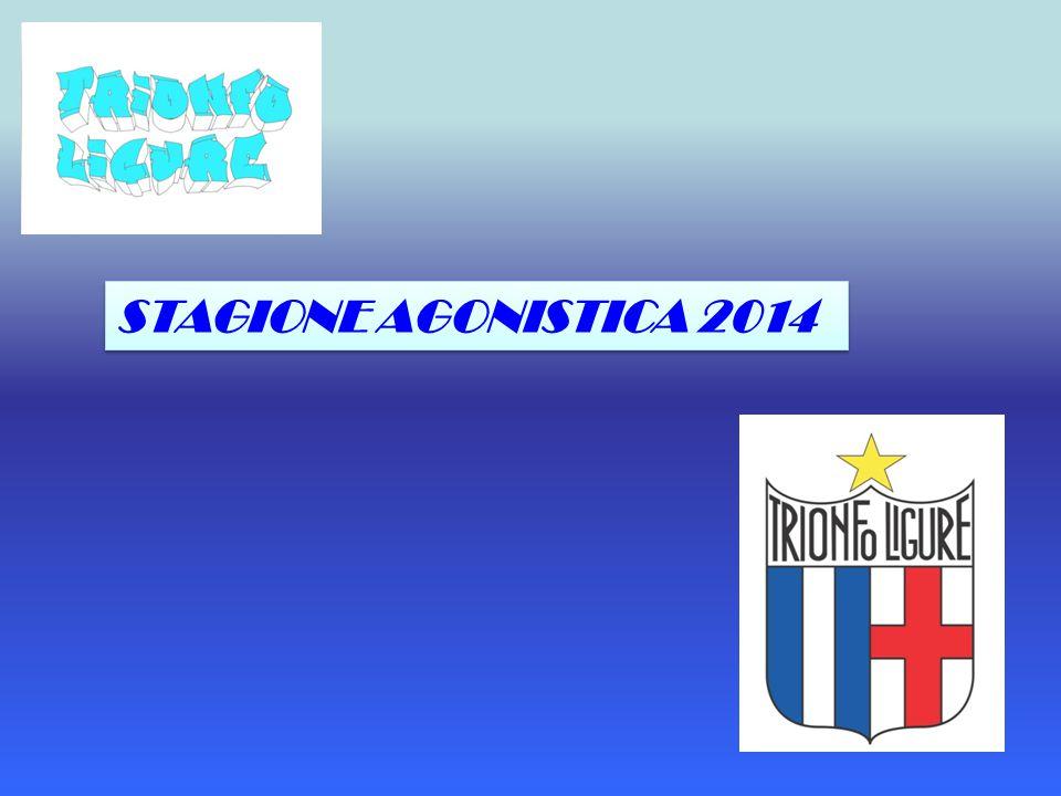 STAGIONE AGONISTICA 2014