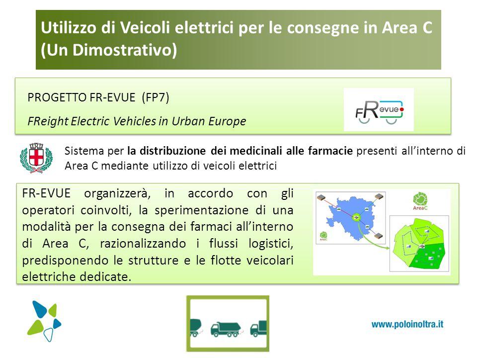 Utilizzo di Veicoli elettrici per le consegne in Area C (Un Dimostrativo) PROGETTO FR-EVUE (FP7) FReight Electric Vehicles in Urban Europe FR-EVUE org