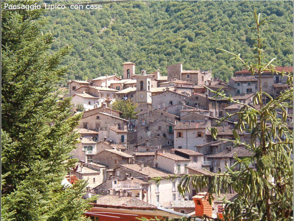 Paesaggio Tipico con case