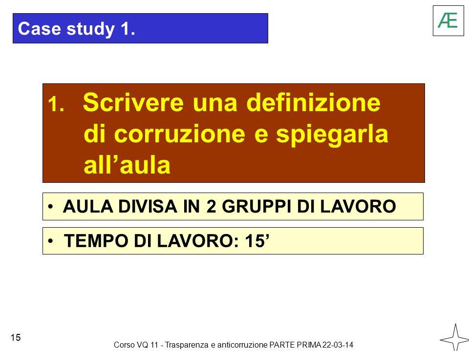 Case study 1. 1.